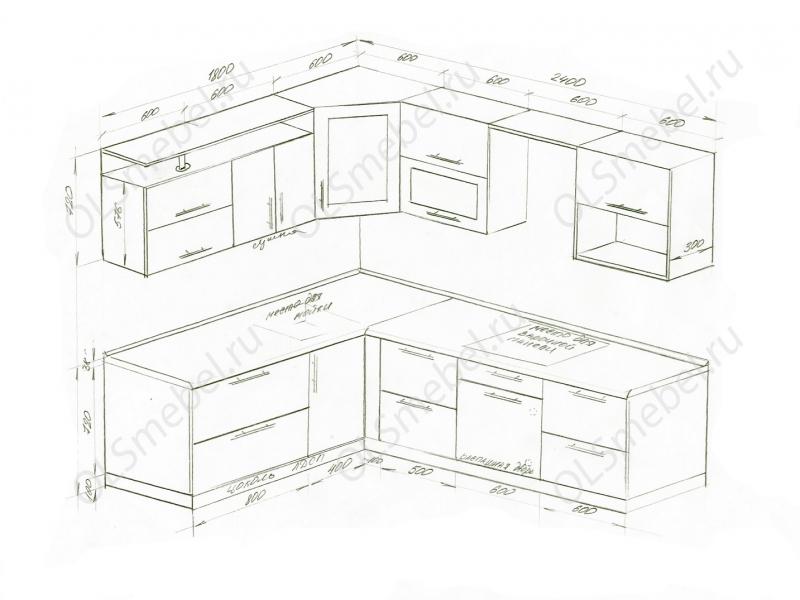 Кухня 1800/2400мм