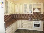 кухня мдф с патиной Тиара №70 валио, золото
