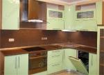 кухня МДФ эмаль, окраска по палитре ral и wood color