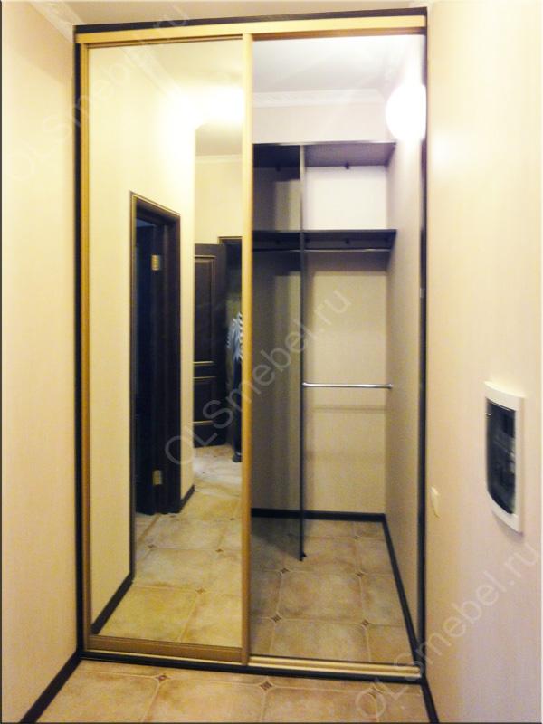 фото встроенный шкаф в прихожую